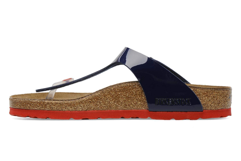 Sandaler Birkenstock Gizeh Flor W Blå bild från framsidan