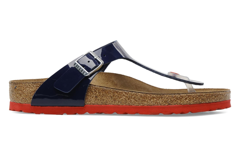 Sandaler Birkenstock Gizeh Flor W Blå bild från baksidan