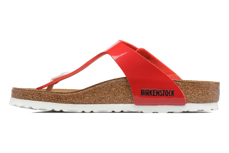 Sandalen Birkenstock Gizeh Flor W rot ansicht von vorne