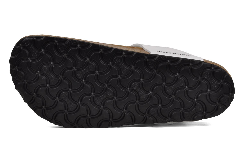 Sandales et nu-pieds Birkenstock Gizeh Flor W Blanc vue haut