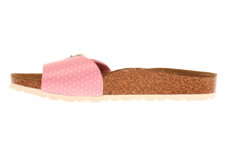 Sandalen Birkenstock Menorca Flor E Roze voorkant