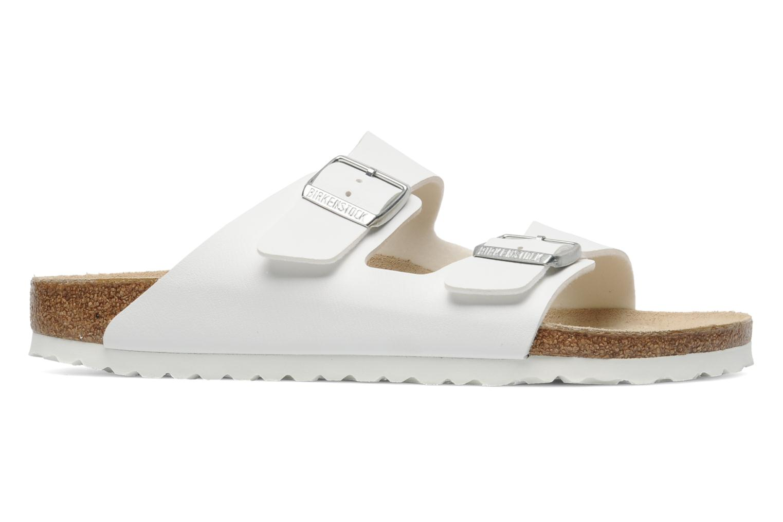 Sandali e scarpe aperte Birkenstock Arizona Flor M Bianco immagine posteriore