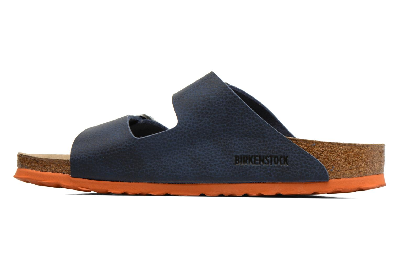 Sandales et nu-pieds Birkenstock Arizona Flor M Bleu vue face