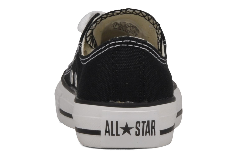 Sneaker Converse Chuck Taylor All Star Ox K schwarz ansicht von rechts