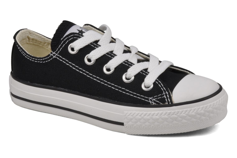 Sneaker Converse Chuck Taylor All Star Ox K schwarz detaillierte ansicht/modell
