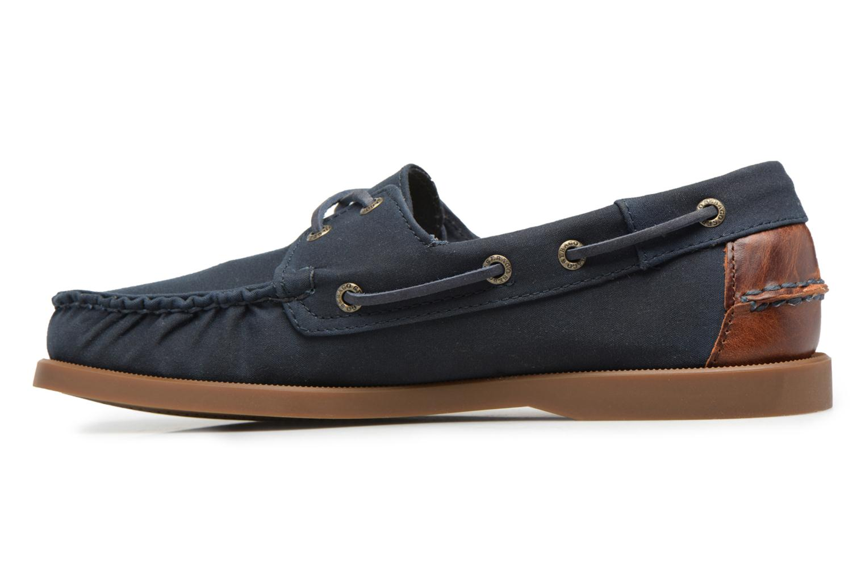 Chaussures à lacets Sebago Spinnaker Bleu vue face