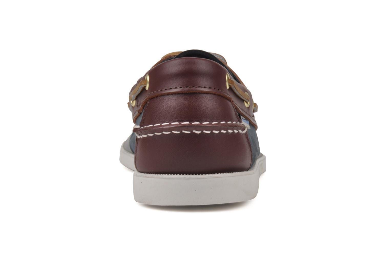 Chaussures à lacets Sebago Spinnaker Bleu vue derrière