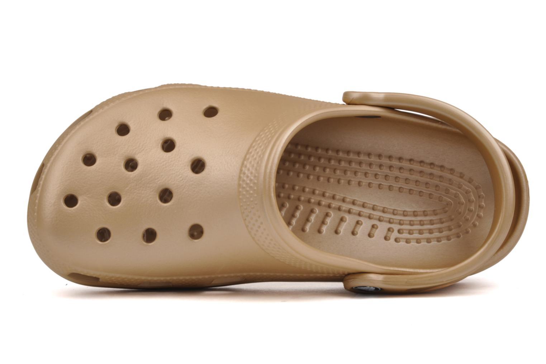 Clogs og træsko Crocs Classic F Guld og bronze se fra venstre