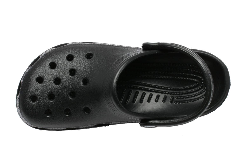 Träskor & clogs Crocs Classic F Svart bild från vänster sidan