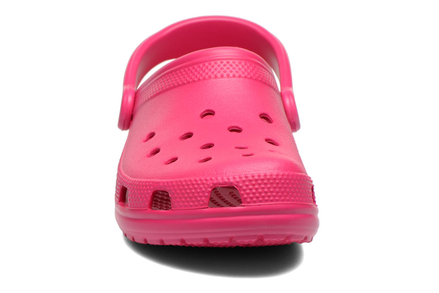 Mules & clogs Crocs Cayman F Pink model view
