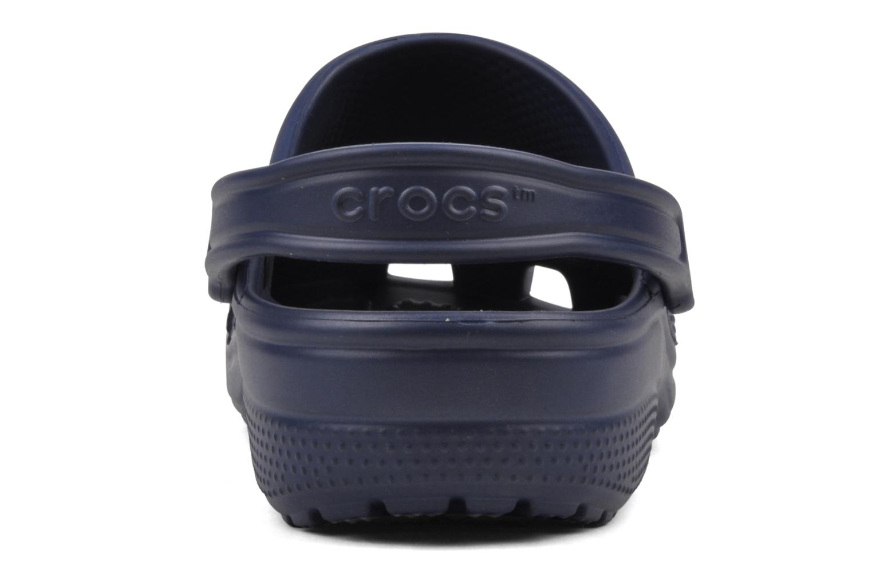 Zuecos Crocs Cayman F Azul vista lateral derecha