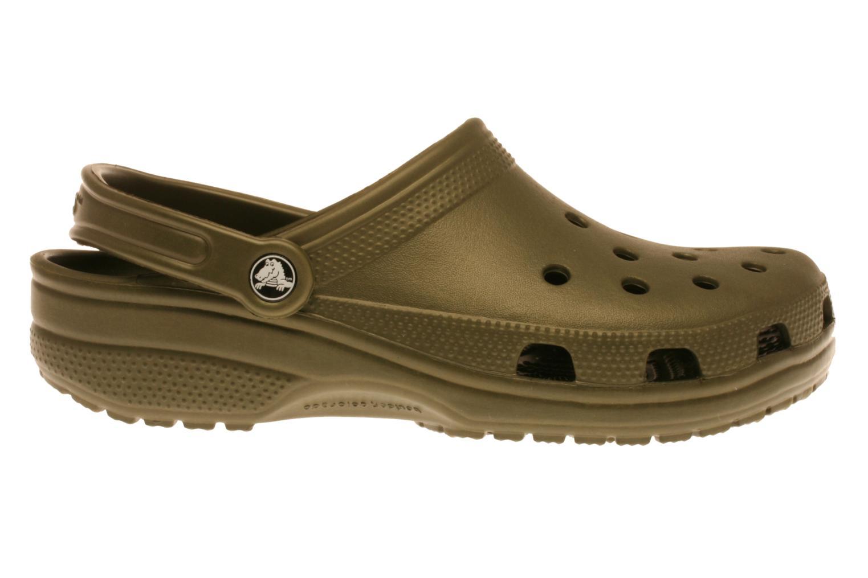 Sandaler Crocs Classic H Grön bild från baksidan