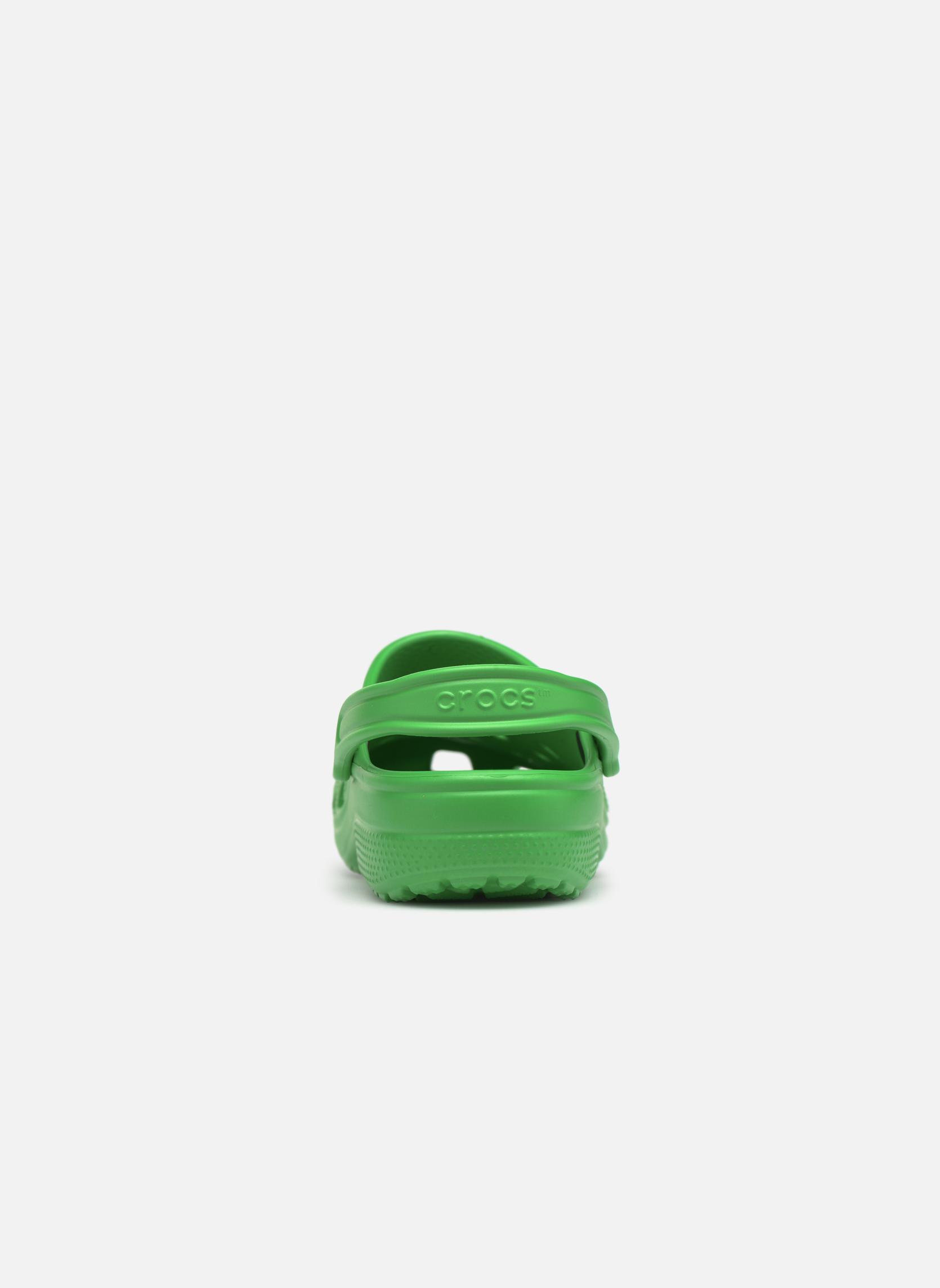 Sandales et nu-pieds Crocs Classic H Vert vue droite