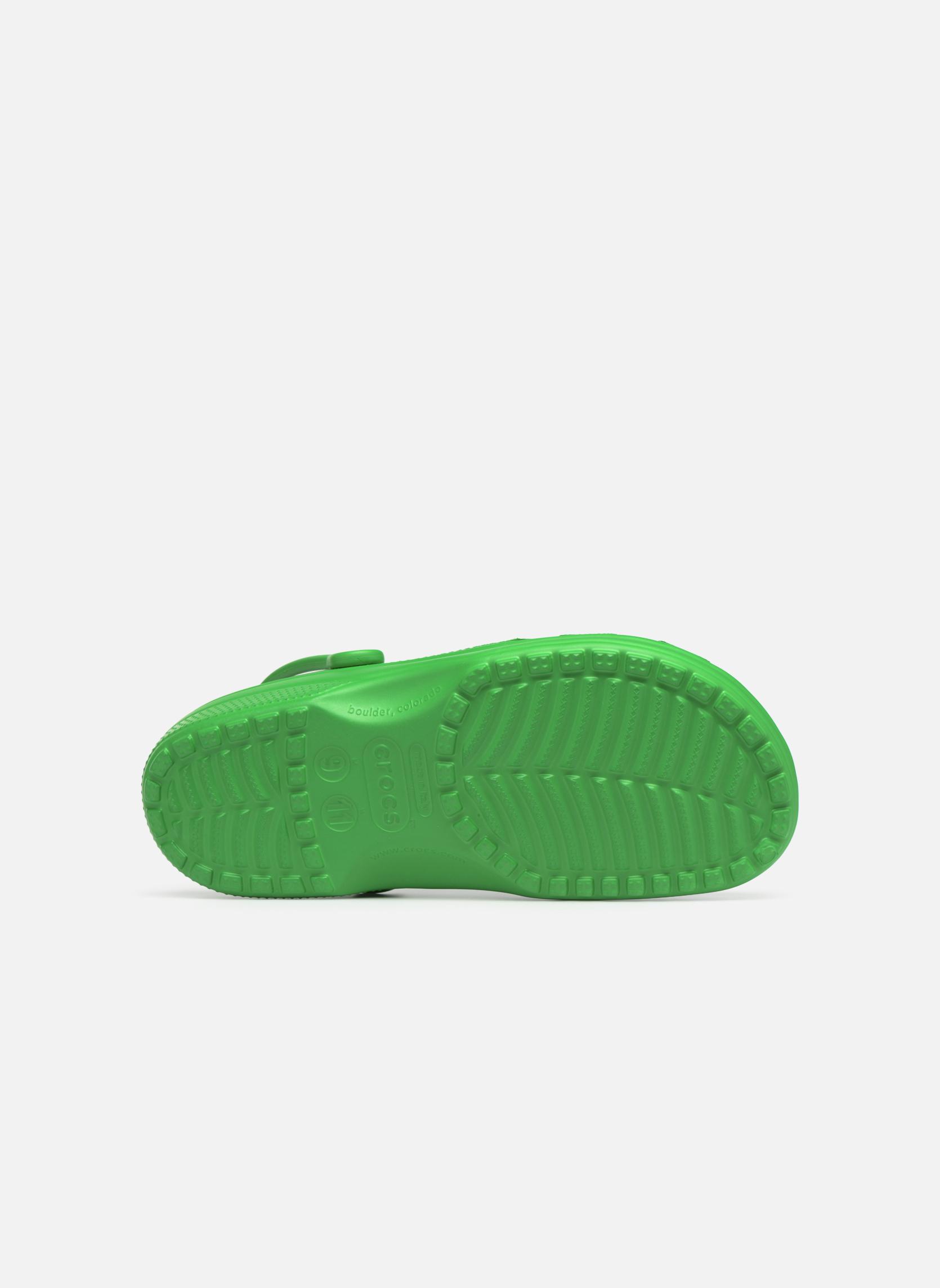 Sandalen Crocs Cayman H grün ansicht von oben