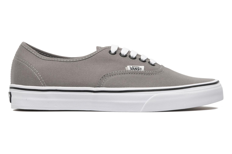 Sneaker Vans Authentic grau ansicht von hinten