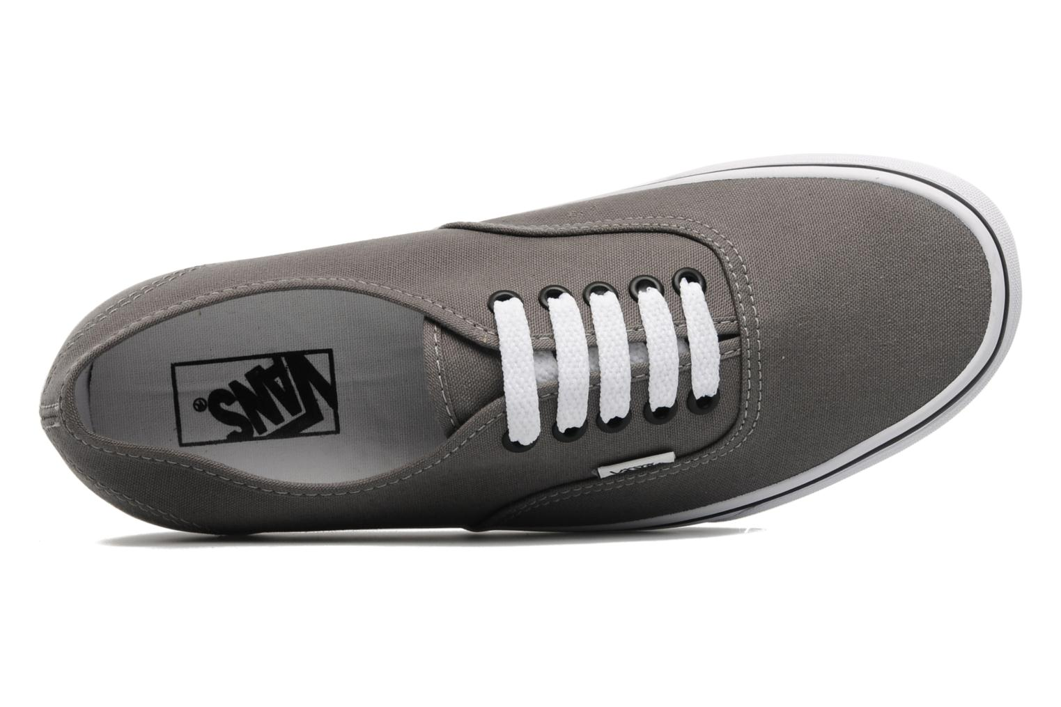 Sneaker Vans Authentic grau ansicht von links