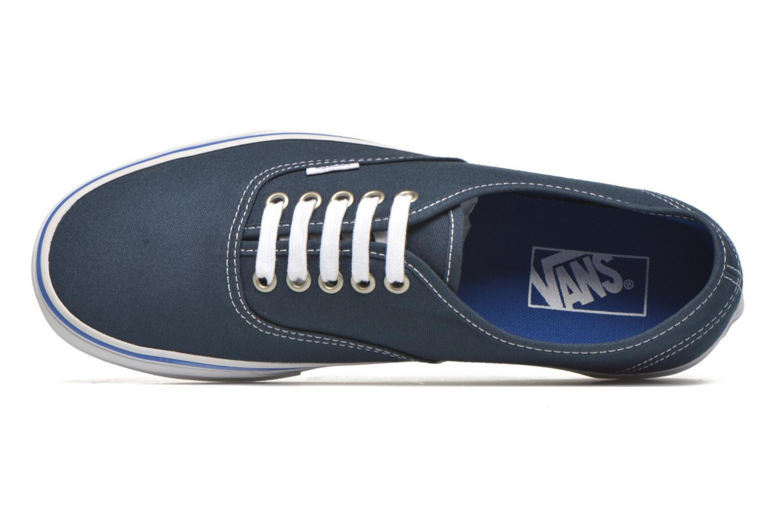 Trainers Vans Authentic Blue view from the left
