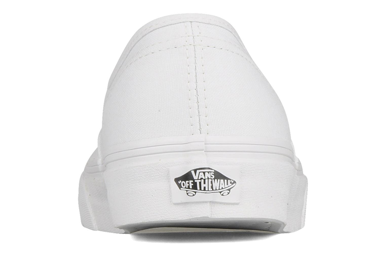 Sneakers Vans Authentic Wit rechts