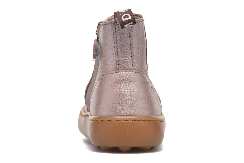 Bottines et boots Pom d Api Walk Jodpur Basic Rose vue droite
