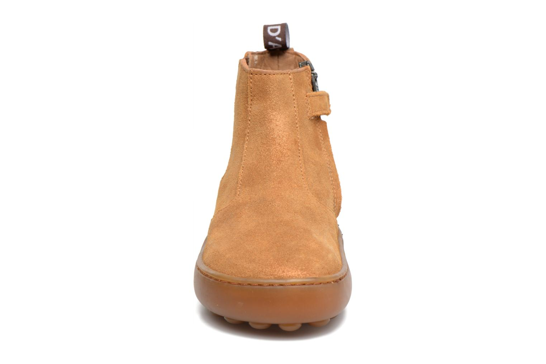 Bottines et boots Pom d Api Walk Jodpur Basic Marron vue portées chaussures