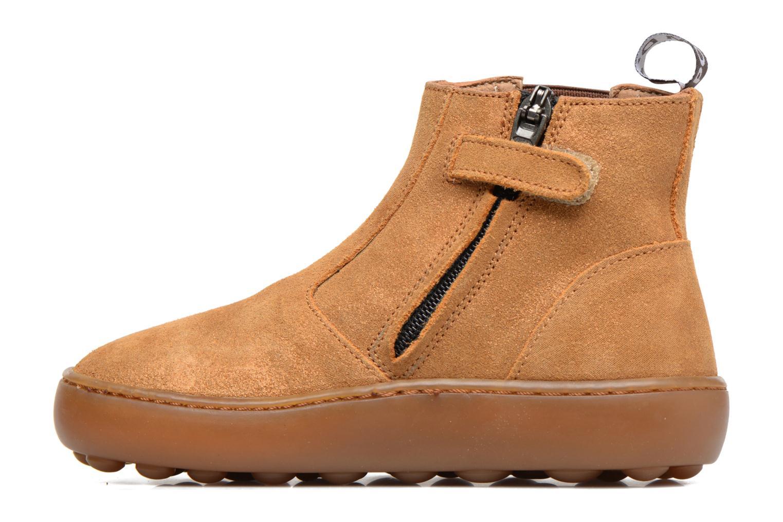 Bottines et boots Pom d Api Walk Jodpur Basic Marron vue face