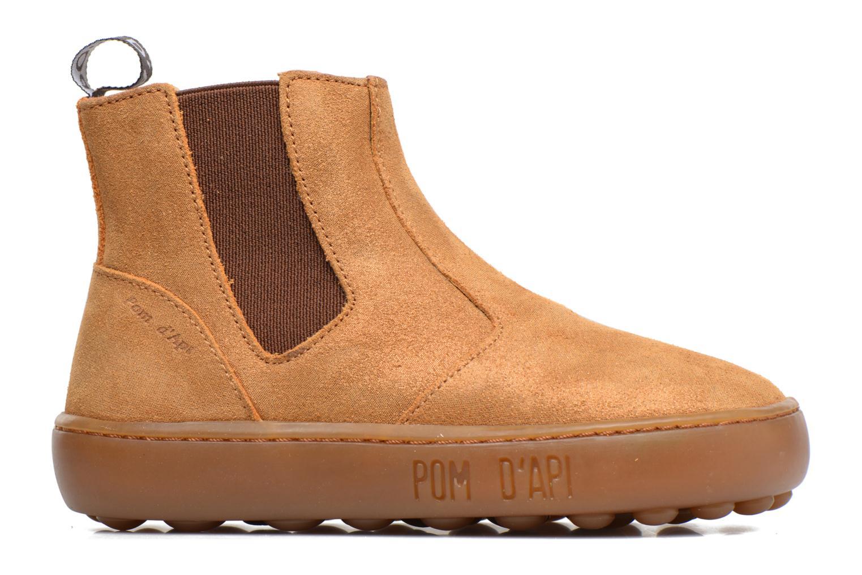 Bottines et boots Pom d Api Walk Jodpur Basic Marron vue derrière