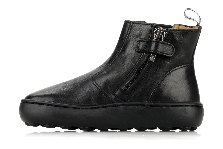 Boots en enkellaarsjes Pom d Api Walk Jodpur Basic Zwart voorkant
