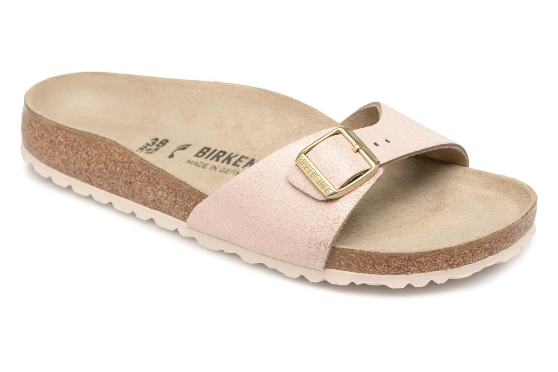 Grandes descuentos últimos zapatos Birkenstock Madrid Cuir W (Beige) - Zuecos Descuento