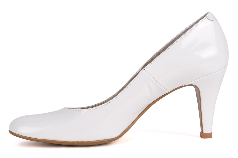 Zapatos de tacón Perlato Lucie Blanco vista de frente