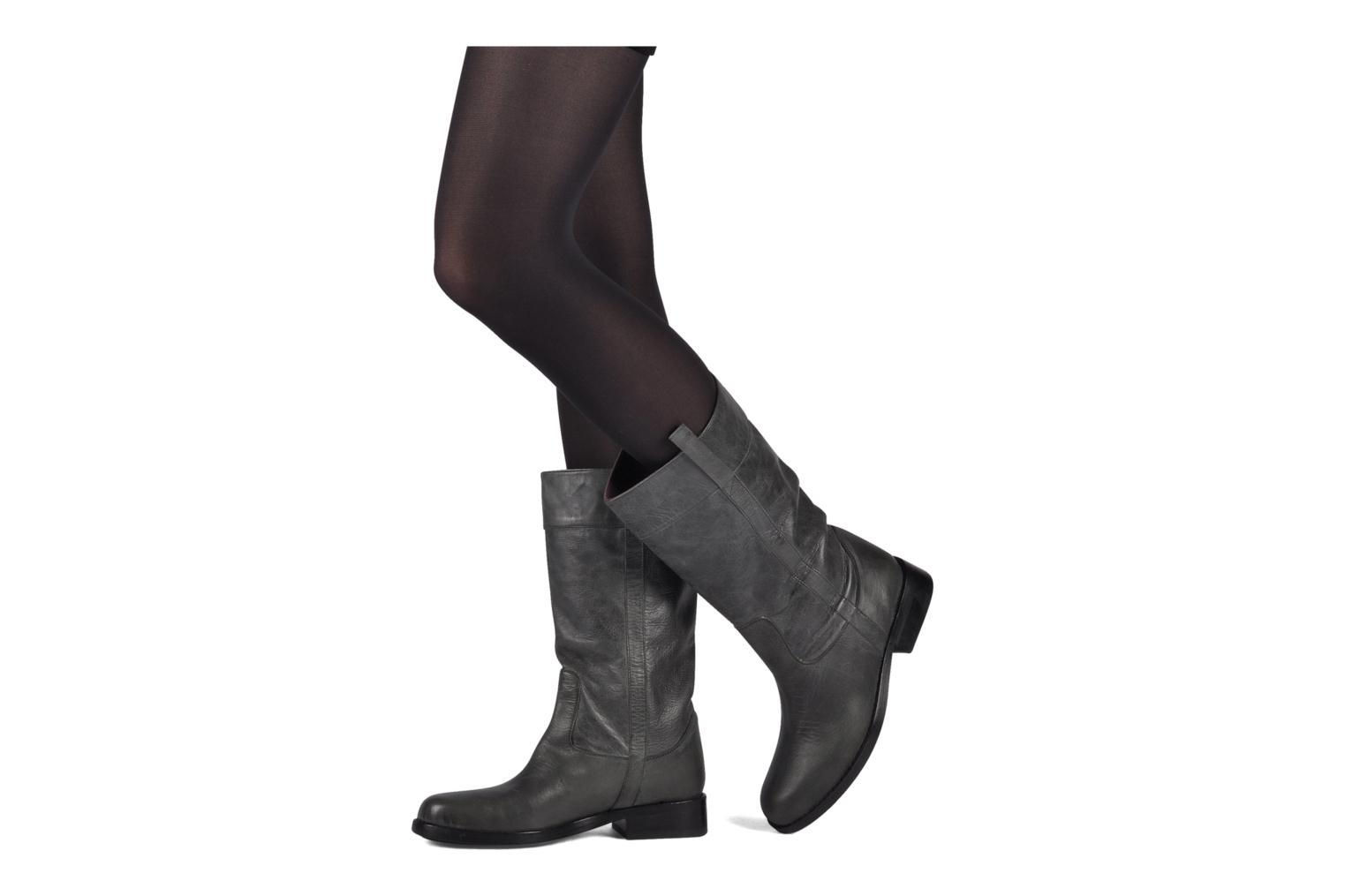 Ankle boots Espace Rastan Grey view from underneath / model view