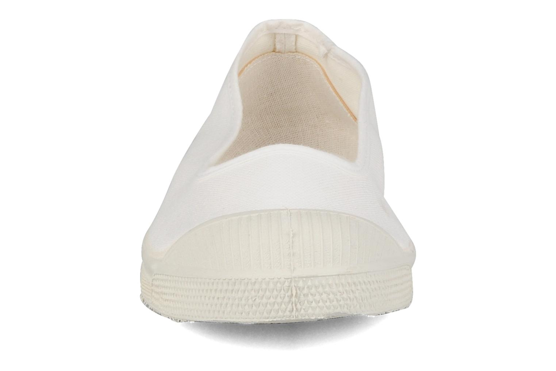 Ballerines Bensimon Ballerine Blanc vue portées chaussures