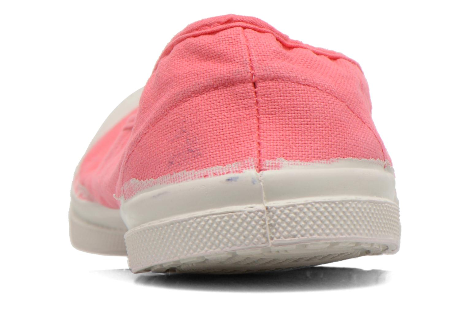 Ballet pumps Bensimon Ballerine Pink view from the right