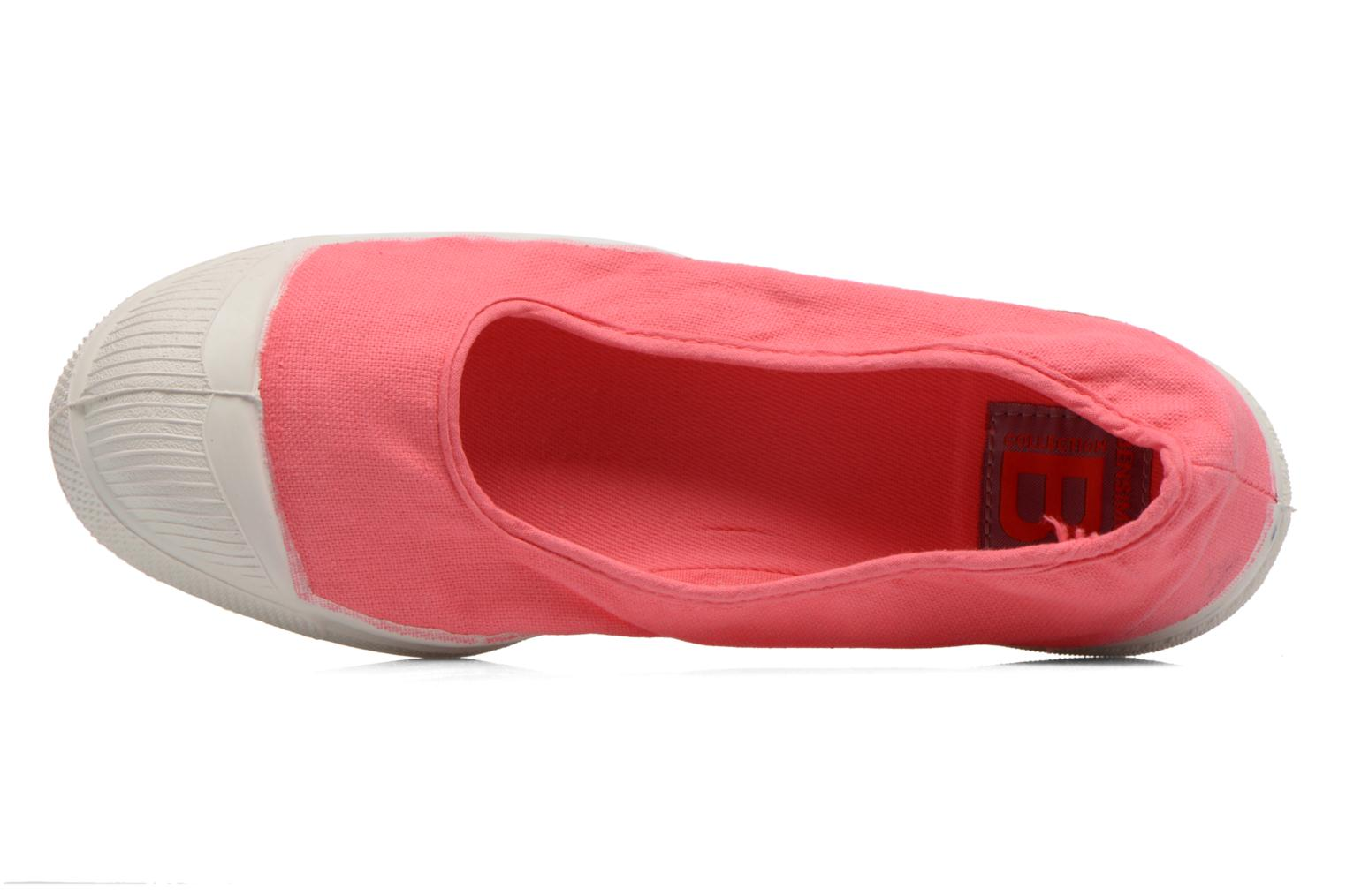 Ballet pumps Bensimon Ballerine Pink view from the left