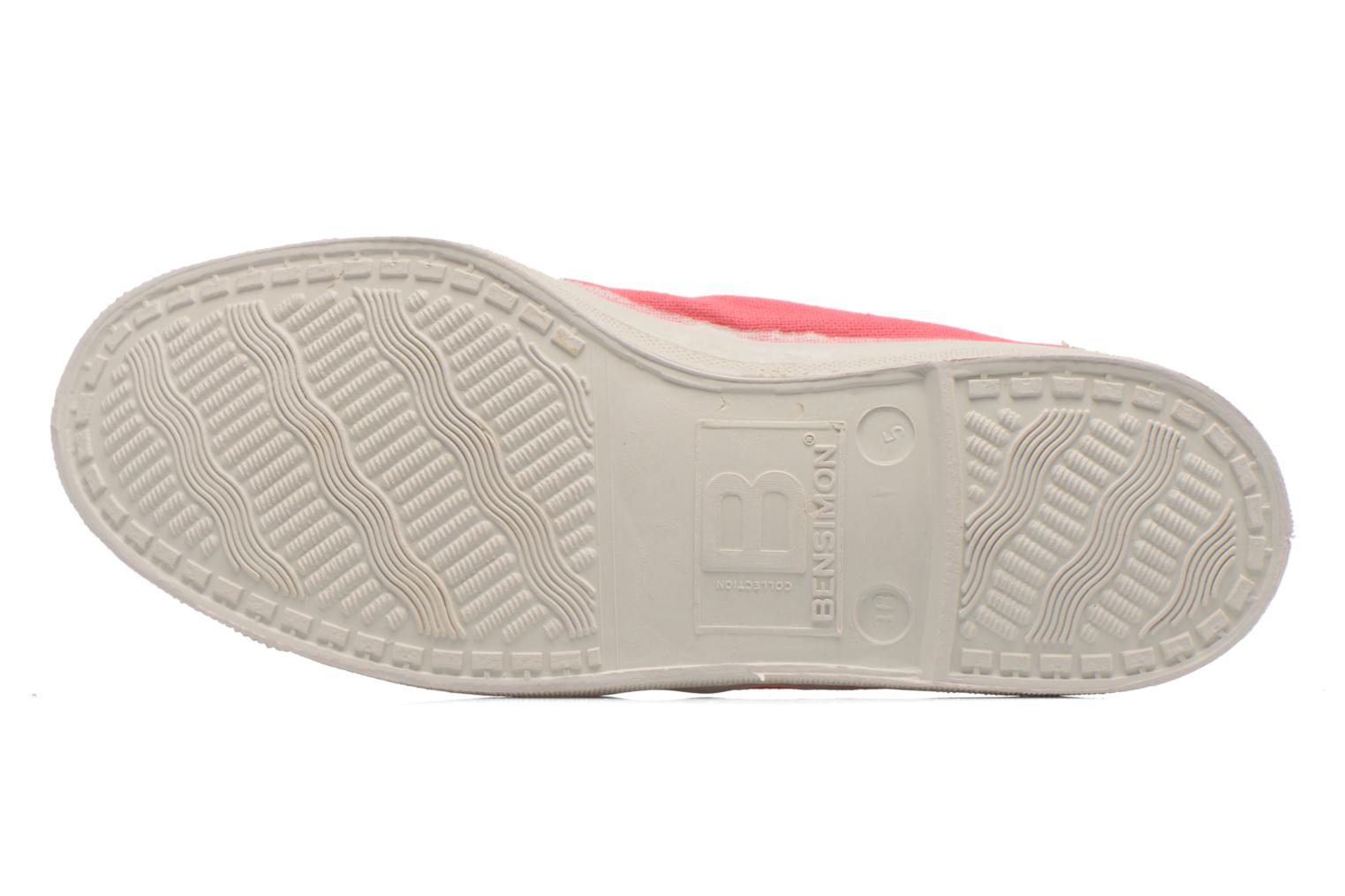 Ballet pumps Bensimon Ballerine Pink view from above