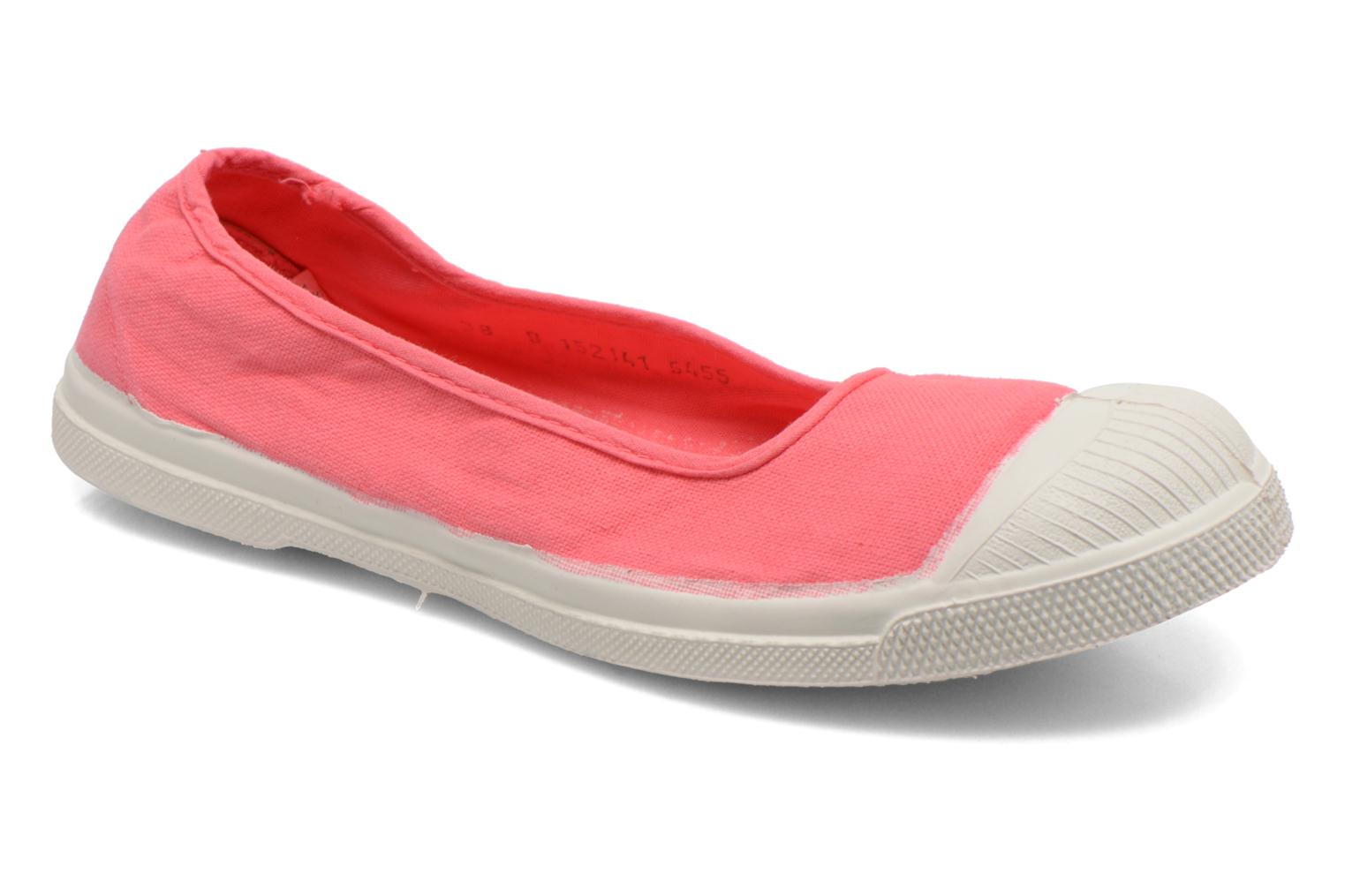 Ballet pumps Bensimon Ballerine Pink detailed view/ Pair view