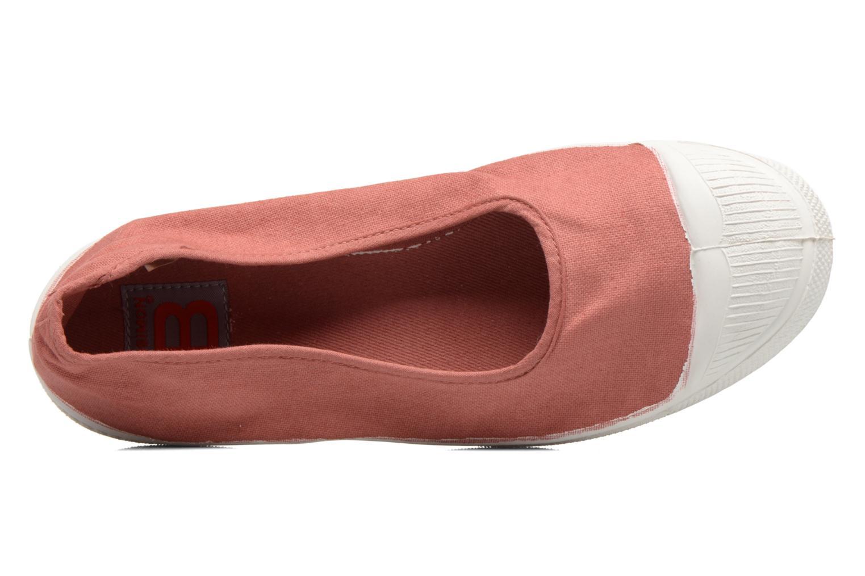 Ballerinas Bensimon Ballerine rosa ansicht von links