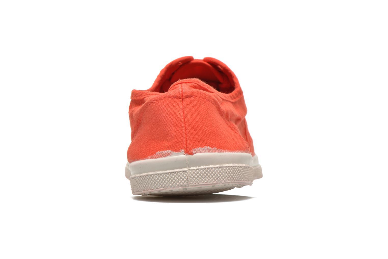 Sneaker Bensimon Tennis Lacets H rot ansicht von rechts
