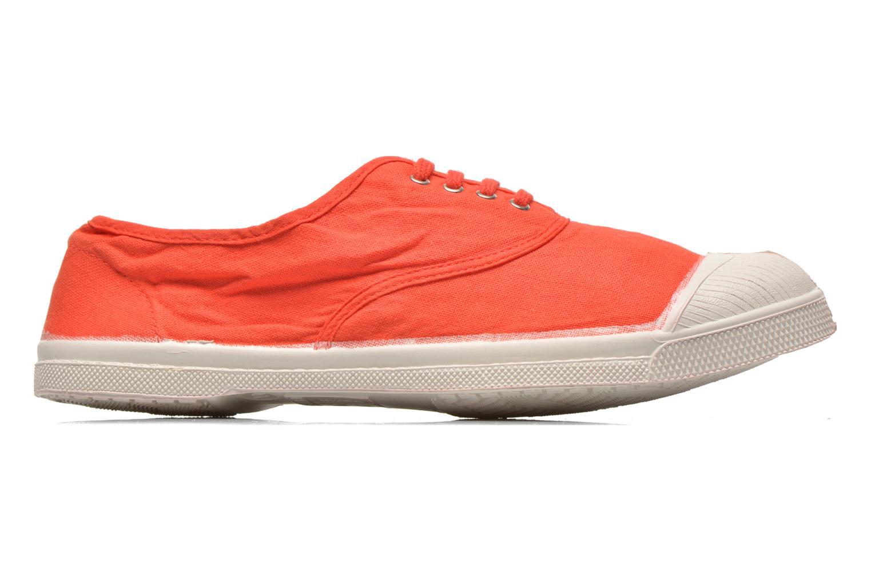 Sneaker Bensimon Tennis Lacets H rot ansicht von hinten