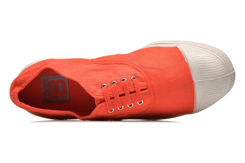 Sneakers Bensimon Tennis Lacets H Rød se fra venstre