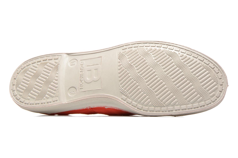 Sneaker Bensimon Tennis Lacets H rot ansicht von oben