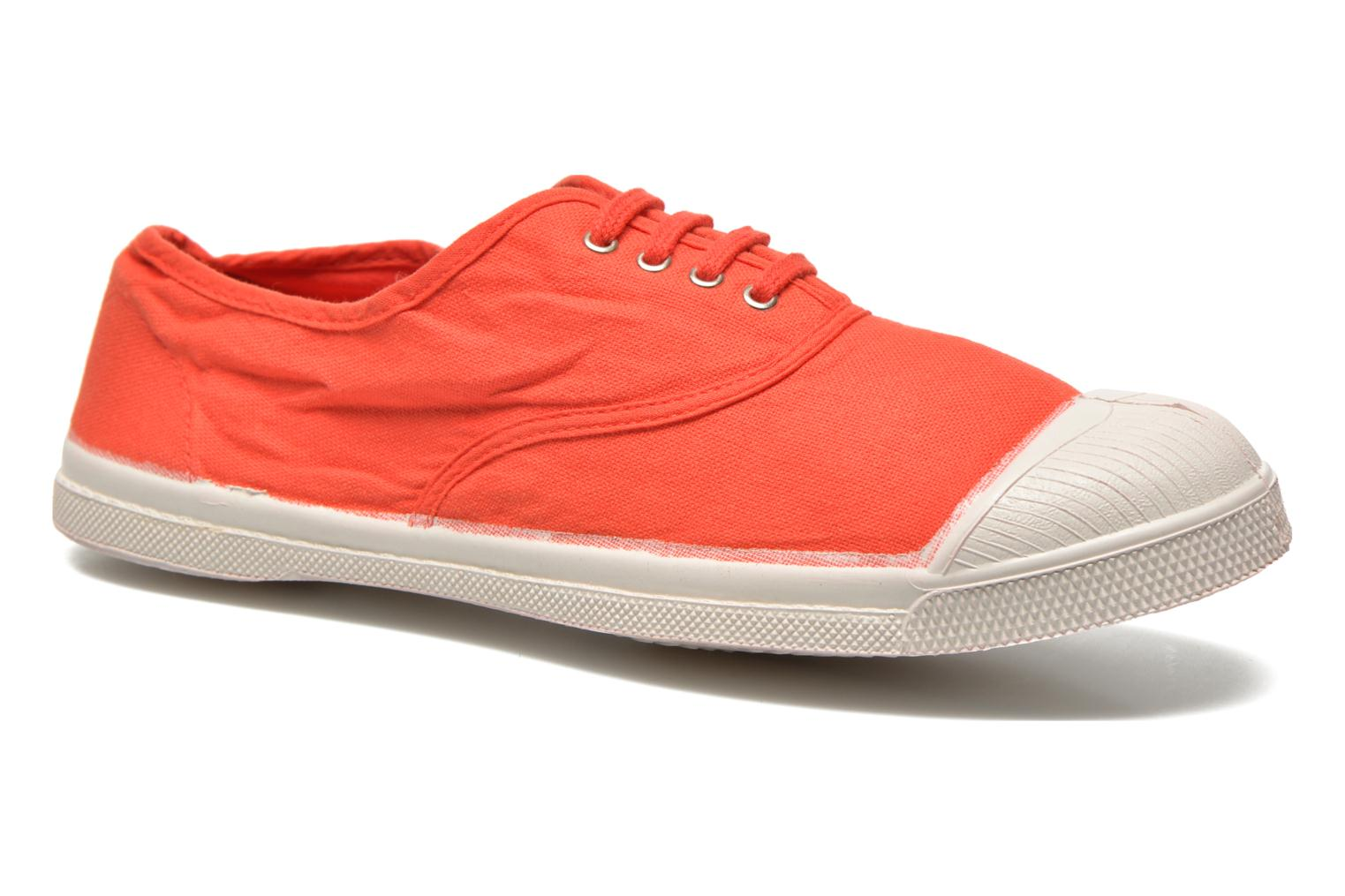 Sneakers Bensimon Tennis Lacets H Rood detail