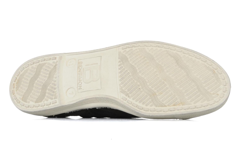 Sneakers Bensimon Tennis Lacets H Zwart boven