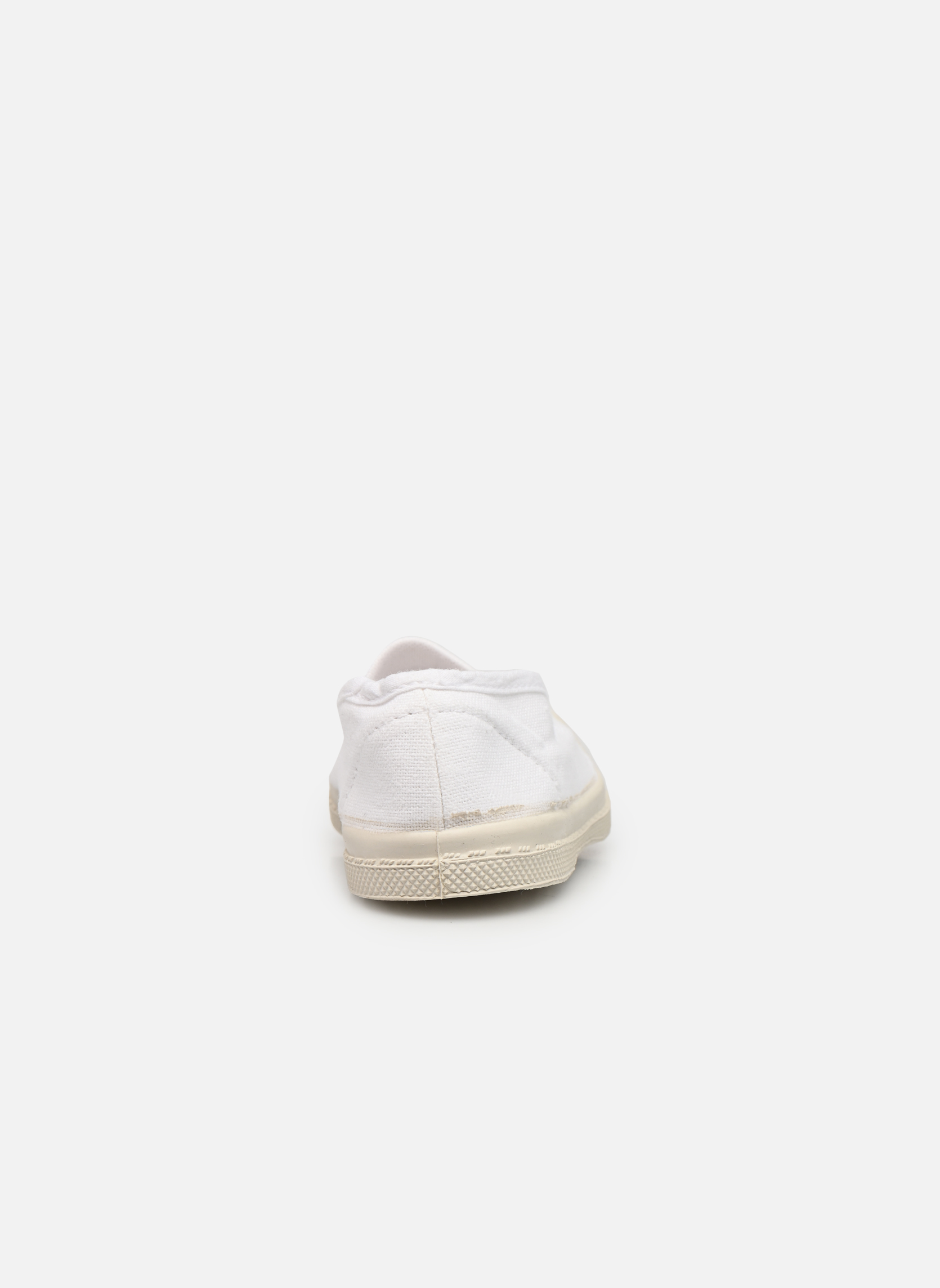 Trainers Bensimon Tennis Elastique E White view from the right
