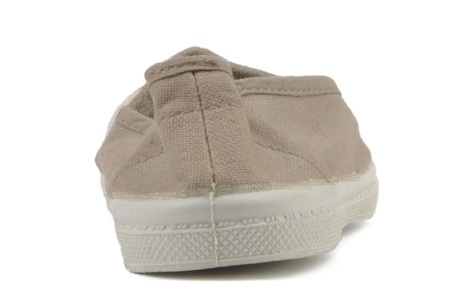 Trainers Bensimon Tennis Elastique E Beige view from the right
