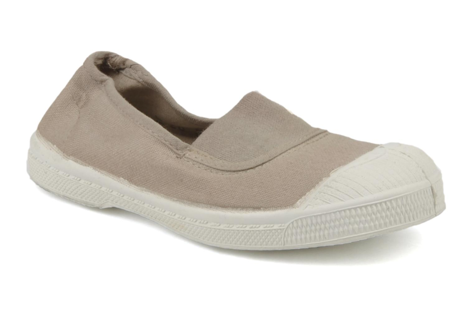 Trainers Bensimon Tennis Elastique E Beige detailed view/ Pair view