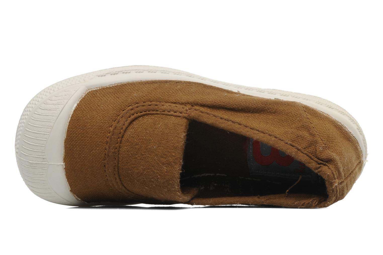 Sneaker Bensimon Tennis Elastique E braun ansicht von hinten