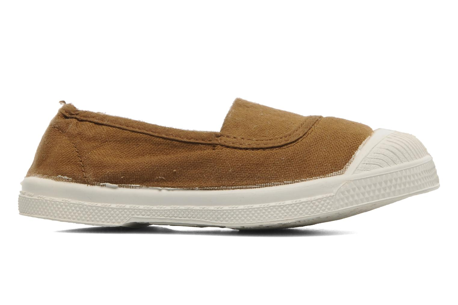 Baskets Bensimon Tennis Elastique E Marron vue gauche