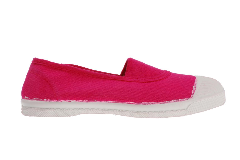 Sneaker Bensimon Tennis Elastique E rosa ansicht von hinten