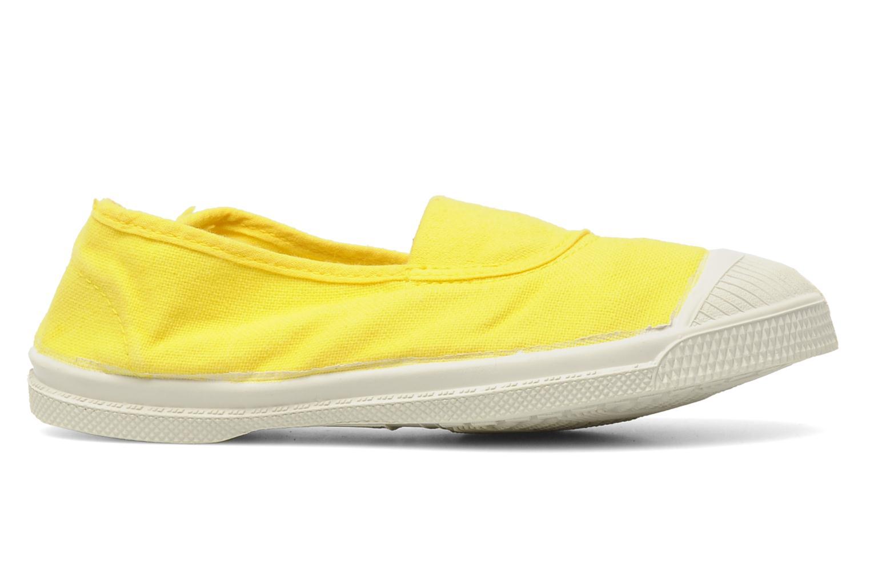 Sneaker Bensimon Tennis Elastique E gelb ansicht von hinten