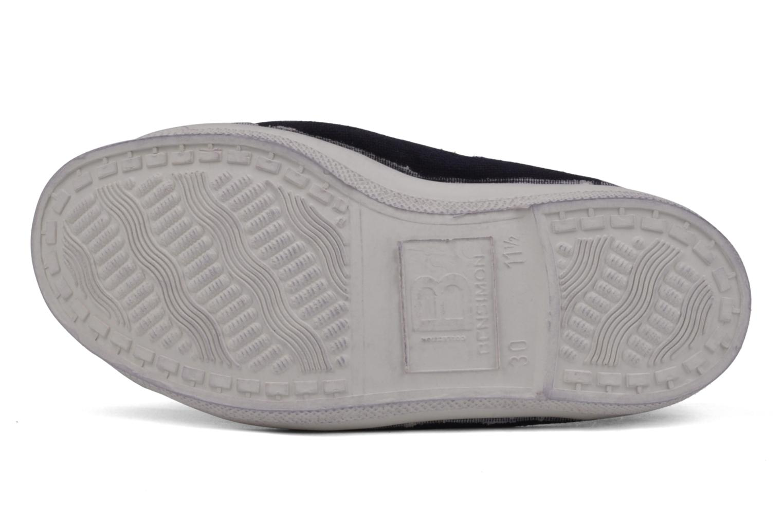 Sneakers Bensimon Tennis Elastique E Lila bild från ovan